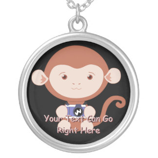 Cute Monkey with Camera Necklace