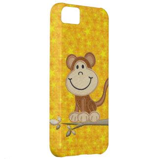 Cute Monkey Yellow Stars iPhone 5 Case