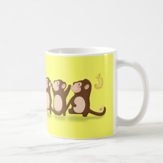 Cute Monkeys Mugs