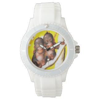 Cute Monkeys Wrist Watch
