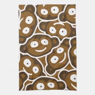 Cute Monkeys Zoo Animals Kitchen Towel