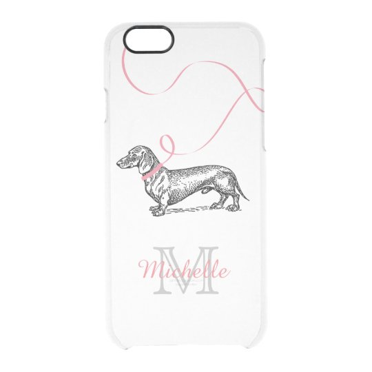 iphone 6 phone case sausage dog