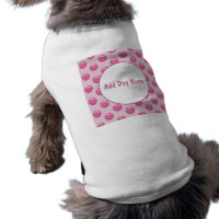 Cute Monogram Pet Tshirt
