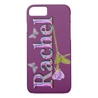 "Cute MONOGRAM ""Rachel"" iPhone 7 CASE"