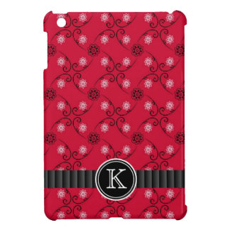 Cute Monogrammed Country Western Fabric Pattern Case For The iPad Mini