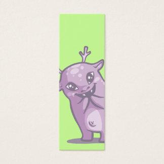 Cute Monster Bookmark Mini Business Card