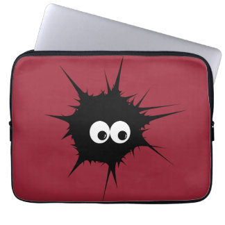 Cute monster computer sleeve