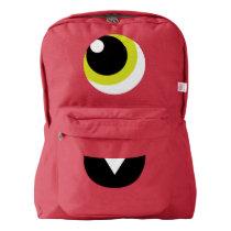 Cute Monster Cyclops Backpack for Kids