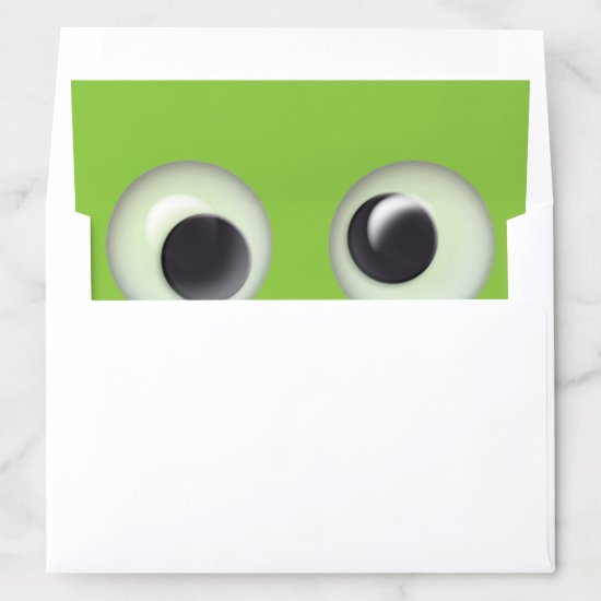Cute Monster Envelope Liner