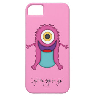 Cute Monster-Got my eye on you! iPhone 5 Cover