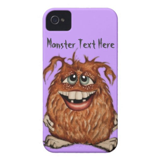 Cute Monster iPhone 4 Case