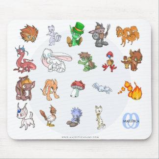 Cute Monster Mousepad