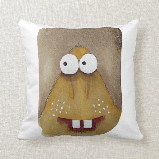 Cute Monster Pillow : Cute monster pillow Zazzle