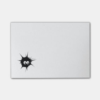 Cute monster post-it notes