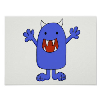 Cute Monster Posters