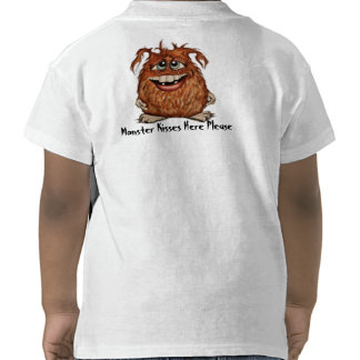 Cute Monster Toddler T-shirt