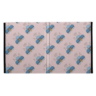 Cute Monster With Blue And Red Frosted Cupcakes iPad Case