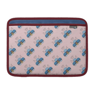 Cute Monster With Blue And Red Frosted Cupcakes MacBook Air Sleeve