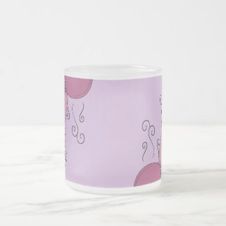 Cute Monster With Pink And Purple Frosted Cupcakes Coffee Mugs