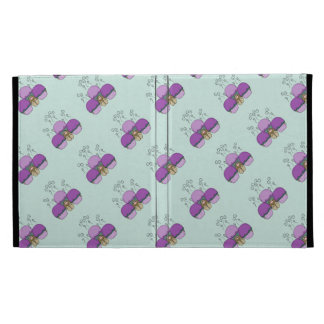 Cute Monster With Purple And Cyan Frosted Cupcakes iPad Case