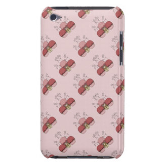 Cute Monster With Red Frosted Cupcakes iPod Touch Cover