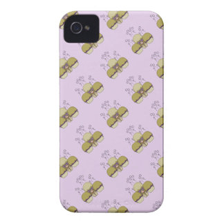 Cute Monster With Yellow & Purple Frosted Cupcakes iPhone 4 Case-Mate Case