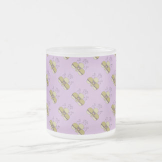 Cute Monster With Yellow & Purple Frosted Cupcakes Mug