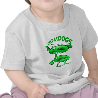 cute monster zombie dogs tshirt