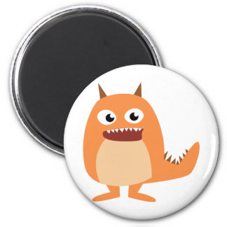 Cute Monsters! 2 Inch Round Magnet