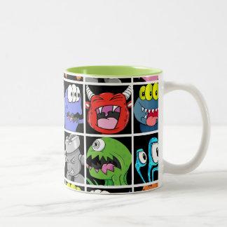 Cute Monsters Aliens and Devils Coffee Mugs