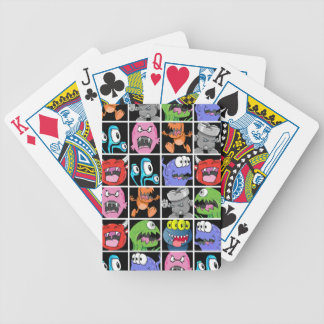 Cute Monsters Aliens and Devils Deck Of Cards