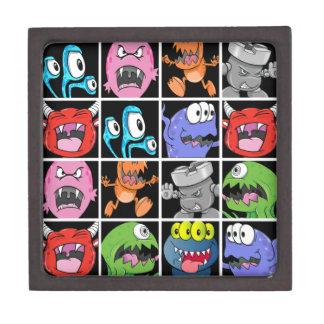 Cute Monsters Aliens and Devils Premium Trinket Box