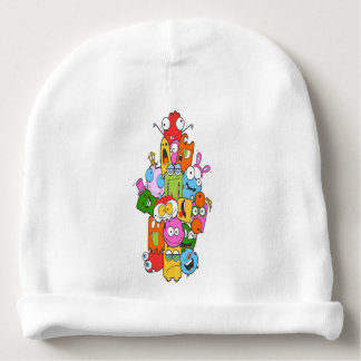 Cute Monsters Baby Beanie