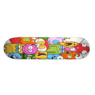 Cute Monsters Skateboard Deck