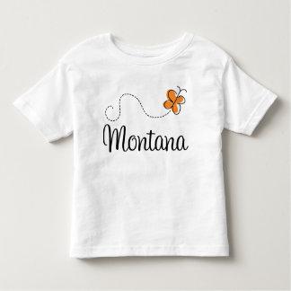 Cute Montana Butterfly Gift Toddler T-shirt