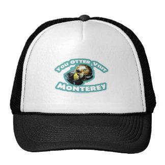 Cute Monterey Otter Travel Trucker Hat