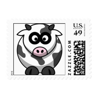 Cute Moo Moo Cow Postage