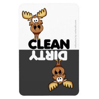 Cute Moose Dishwasher Magnet