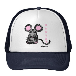 Cute Mooska Mouse Hat