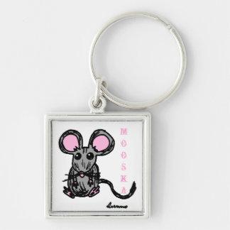 Cute Mooska Mouse Keychain
