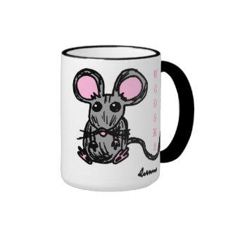 Cute Mooska Mouse Mug