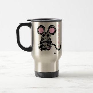 Cute Mooska Mouse Travel Mug
