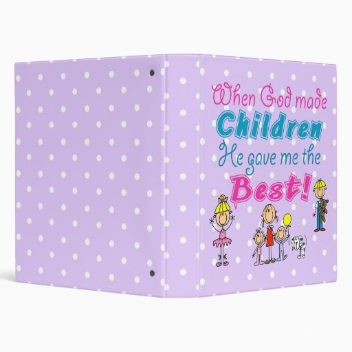 Cute Mothers Day Gift 3 Ring Binders