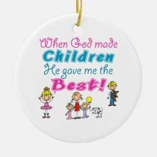 Cute Mothers Day Gift Ceramic Ornament