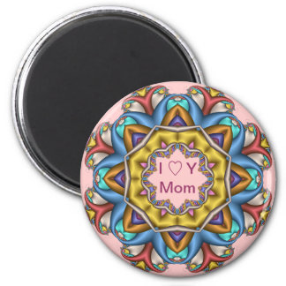 Cute Mother's day magnet with text