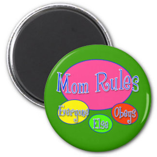 Cute Mother's Day Tshirt and Gifts 2 Inch Round Magnet