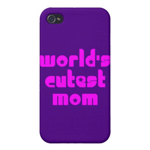 Cute Mothers & Moms : World's Cutest Mom Cases For iPhone 4