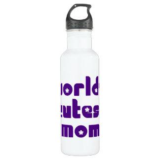 Cute Mothers & Moms : World's Cutest Mom Water Bottle
