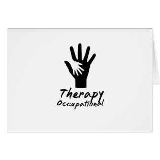 Cute Motivate Love Occupational Therapy Gifts Card