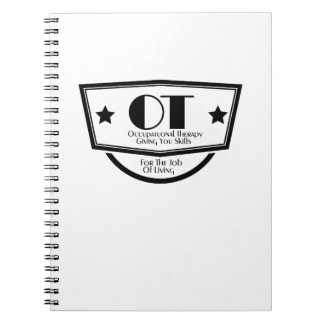 Cute Motivate Love Occupational Therapy Gifts Notebook